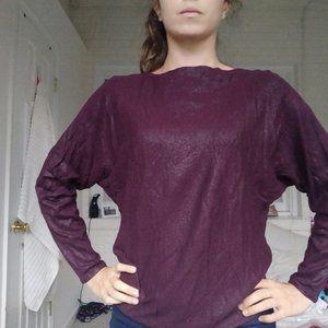 Lauren Ralph Lauren Long Sleeve Top Metal effect